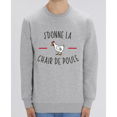 Sweat Unisexe - Jdonne la chair de poule - Heather Grey / XXS - Unisexe>Sweatshirts