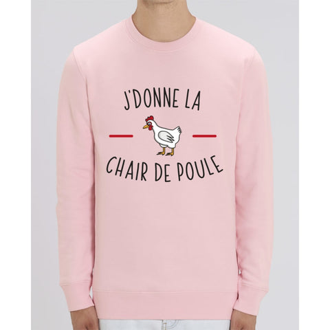 Sweat Unisexe - Jdonne la chair de poule - Cotton Pink / XS - Unisexe>Sweatshirts