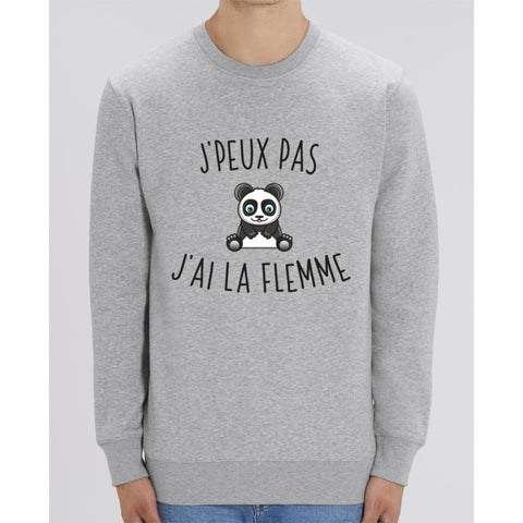 Sweat Unisexe - Jpeux pas jai la flemme - Heather Grey / XXS - Unisexe>Sweatshirts
