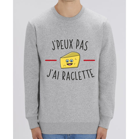 Sweat Unisexe - Jpeux pas jai raclette S2 - Heather Grey / XXS - Unisexe>Sweatshirts