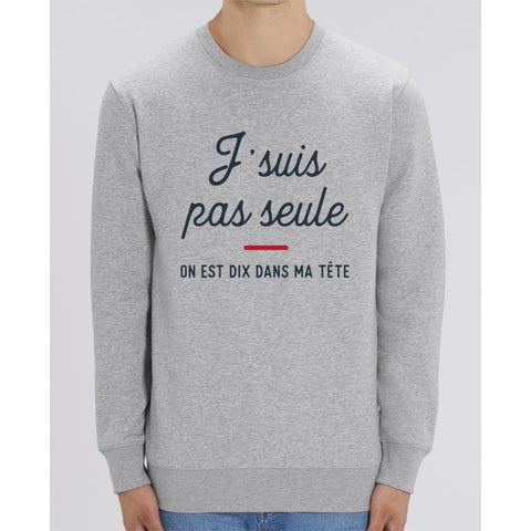 Sweat Unisexe - Jsuis pas seule - Heather Grey / XXS - Unisexe>Sweatshirts