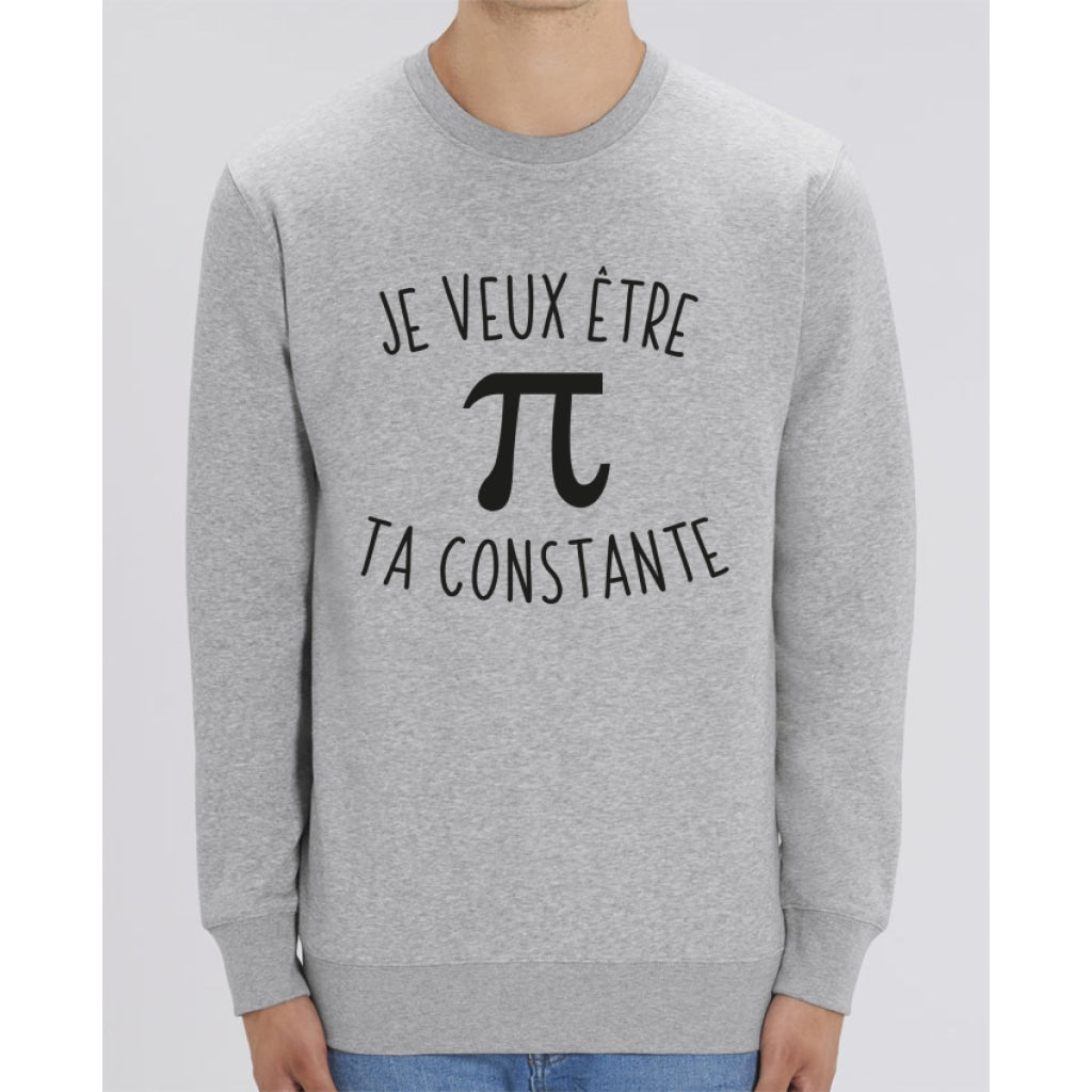 Sweat Unisexe - Je veux être ta constante - Heather Grey / XXS - Unisexe>Sweatshirts