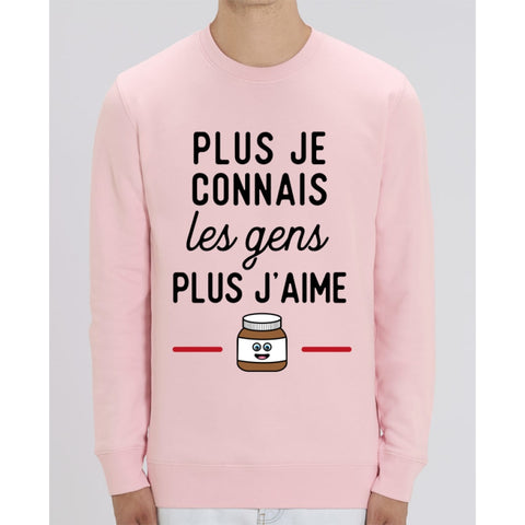 Sweat Unisexe - Pâte à tartiner - Cotton Pink / XS - Unisexe>Sweatshirts
