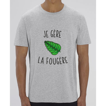 T-Shirt Homme - Je gère la fougère - Heather Grey / XXS - Homme>Tee-shirts