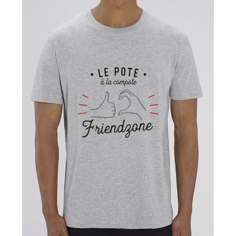 T-Shirt Homme - Le pote à la compote - Heather Grey / XXS - Homme>Tee-shirts