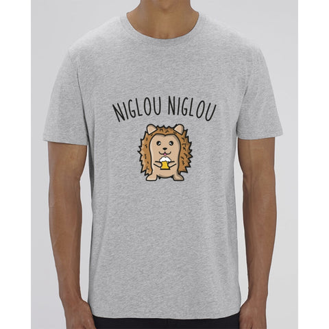 T-Shirt Homme - Niglou niglou - Heather Grey / XXS - Homme>Tee-shirts