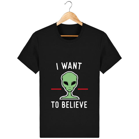 T-Shirt Homme - I want to believe