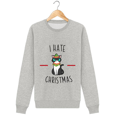 Sweat Unisexe - I hate christmas