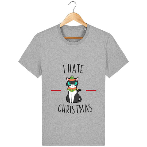 T-Shirt Homme - I hate christmas