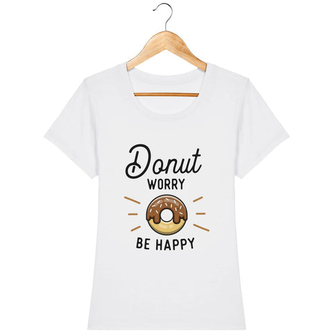 T-shirt Femme - Donut worry be happy