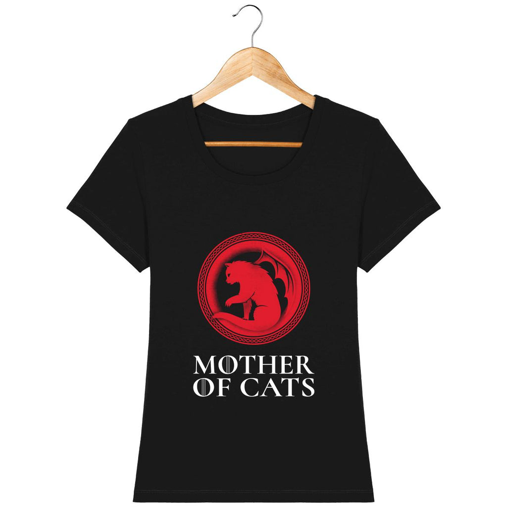 T-shirt Femme - Mother of cats