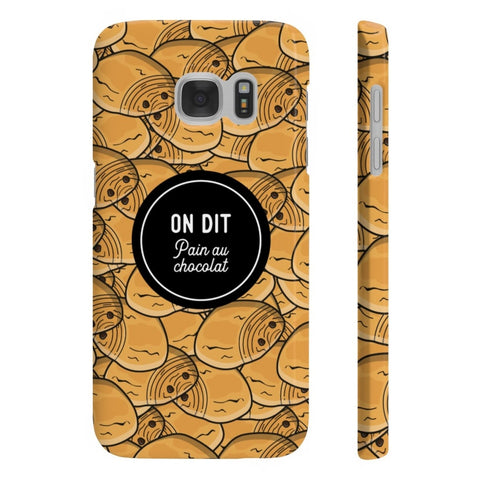 Coque Smartphone - On dit Pain au Chocolat - Inshinytee