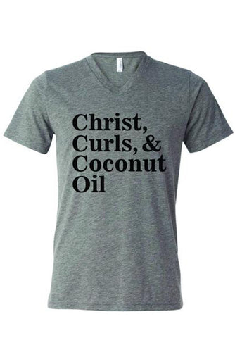Christ & Curls Tee