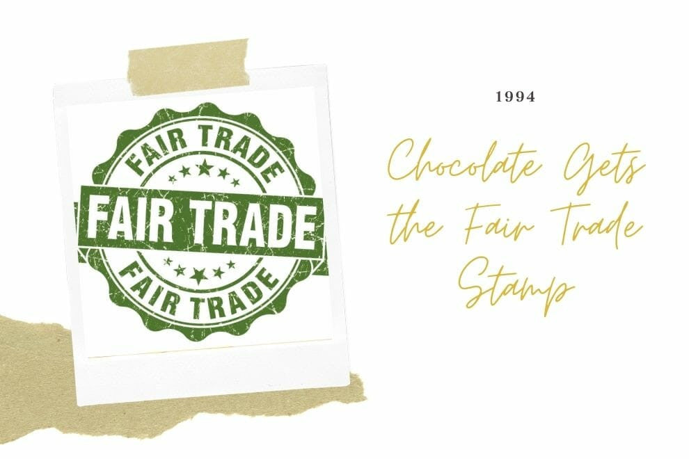 Chocolate Gets the Fair Trade Stamp
