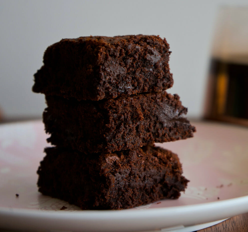 Vegan Chocolate Recipes - Lavender Brownies | To'ak Chocolate