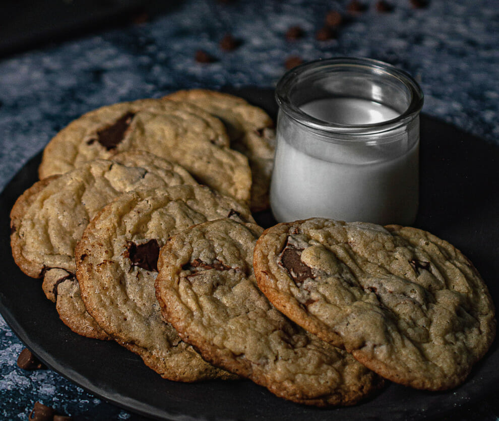 Melt in the Middle Chocolate Chip Cookies Recipe | To'ak Chocolate