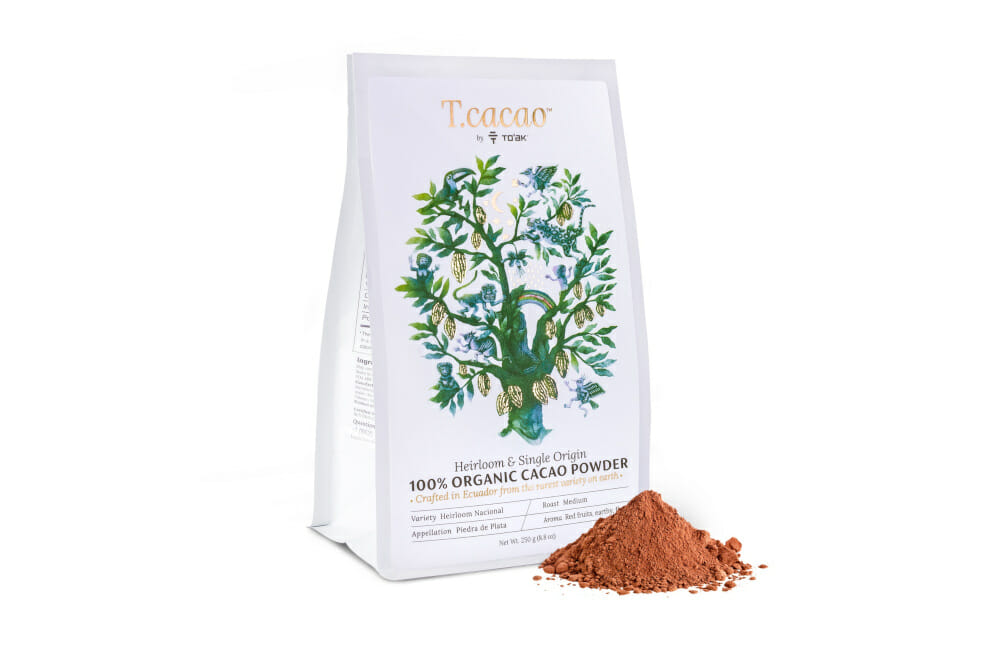 Chocolate for yourself: T.cacao Everyday Organic Cacao Powder