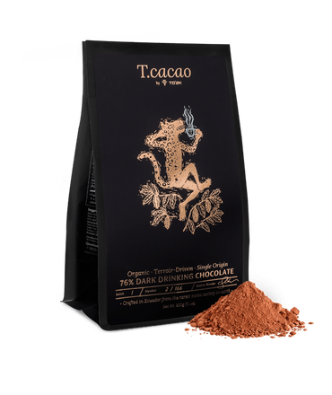 To'ak Chocolate 76% Organic Drinking Chocolate - Dark Chocolate Gifts