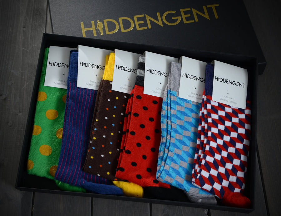 Luxury Men's Sock Box