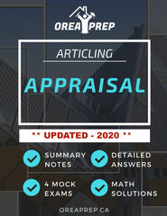 OREA Course Articling - Principles of Appraisal - Study Guide - OREA PREP