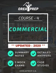 2020 OREA The Commercial Real Estate Transaction Study Guide - OREA PREP