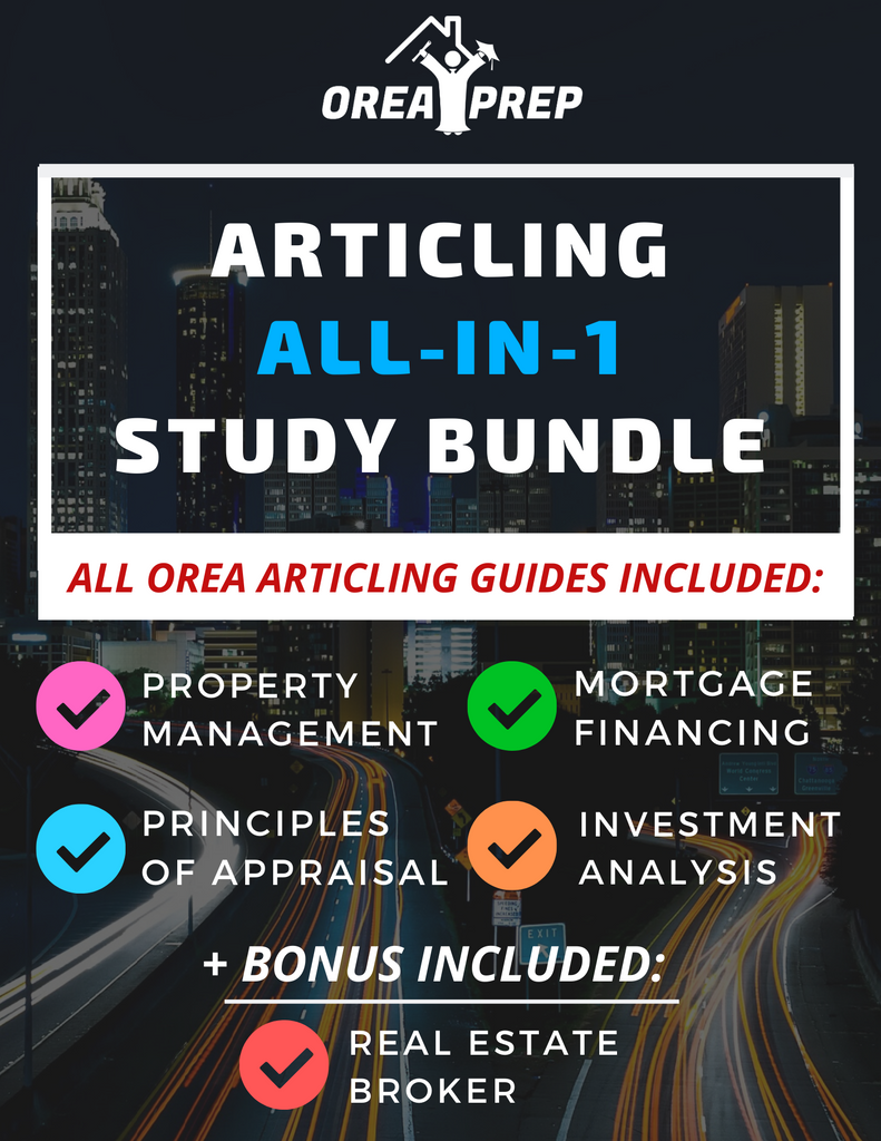OREA Real Estate Articling Study & Save Bundle - 2020 Updated Version