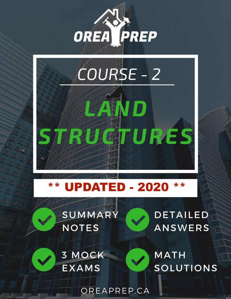 2020 OREA Land Structures and Real Estate Trading Study Guide