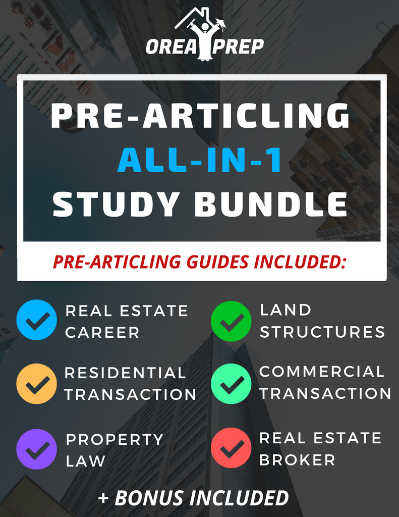 OREA Real Estate Pre-Articling Study & Save Bundle - 2020 Updated Version