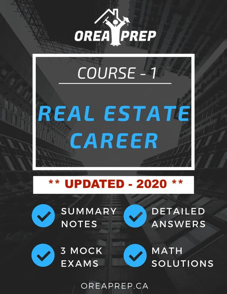 2020 OREA Real Estate as a Professional Career Study Guide