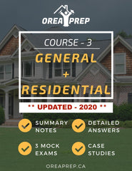2020 OREA Course 3 The Real Estate Transaction General Study Guide