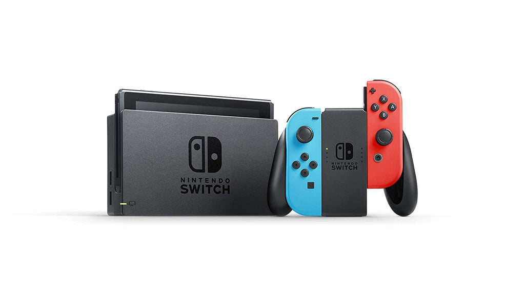 Switch Console Neon Blue