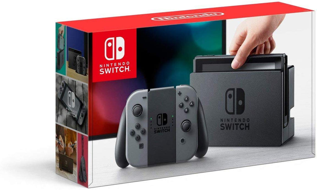 Switch Console Gray