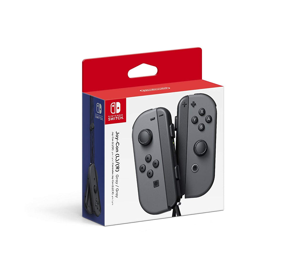 Nint. Joy Con LR Red/Gray/Neon