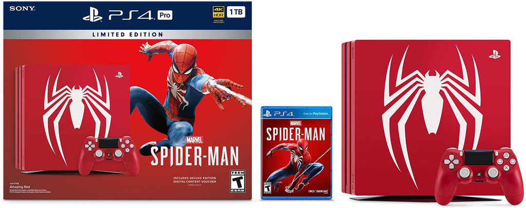 Ps4 1TB Spiderman Bundlle LTD