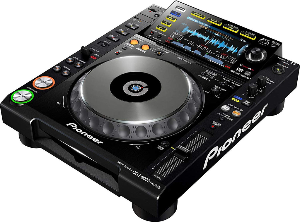 Pro DJ Cd Player w/7 Touch