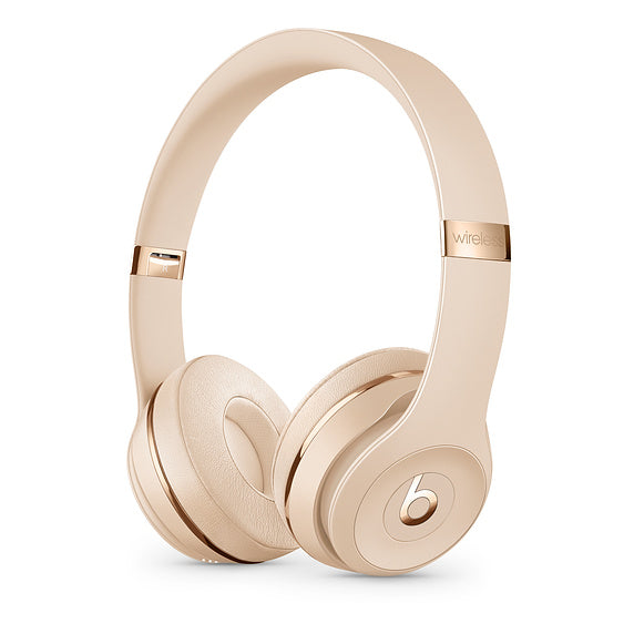 Beats Solo3 Wirless Satin Gold