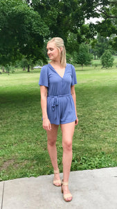 Midnight Run Romper