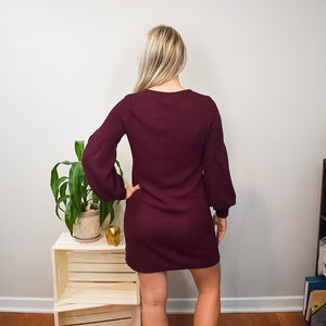 Plum Crazy Dress
