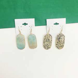 Nature Stone Earrings