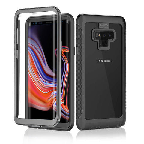 Black Full Body Protective Case for Samsung Galaxy Smartphones - It's From The Shop