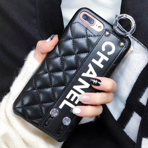 Diamond Pattern Leather Fashion iPhone Cases - It's From The Shop
