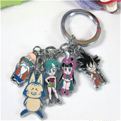 DBZ Friends Alloy Metal Keychain - It's From The Shop