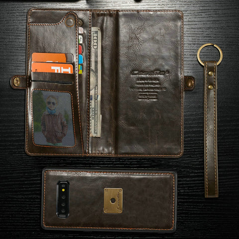 Leather Wallet Cases For Samsung Galaxy S10 - It's From The Shop