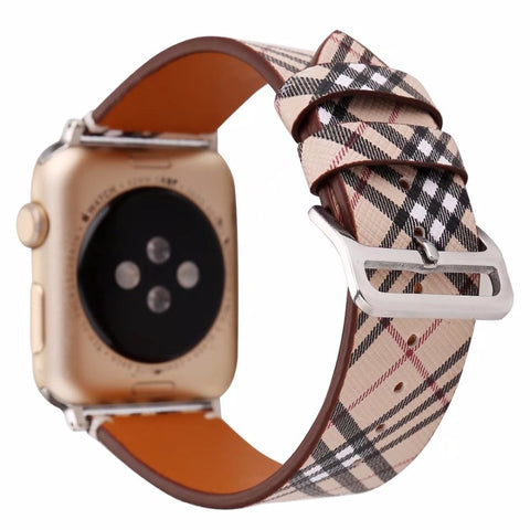 Classic Leather Watch Band for Apple Watch 38/42mm Series 1 2 3 - It's From The Shop