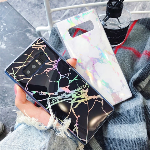 Marble Shock Case For Samsung Galaxy Smartphones - It's From The Shop