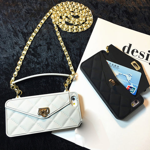 Handbag Protective Fashion Case With Strap For iPhone (Available XS XR) - It's From The Shop