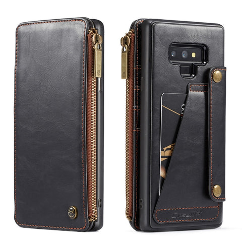 Samsung Galaxy Note 9 Leather Wallet Case - It's From The Shop