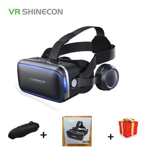 Universal Virtual Reality Goggles Set With Headset & Remote - It's From The Shop