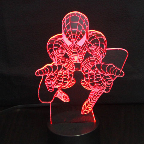 Comic Super Hero LED Night Light - It's From The Shop