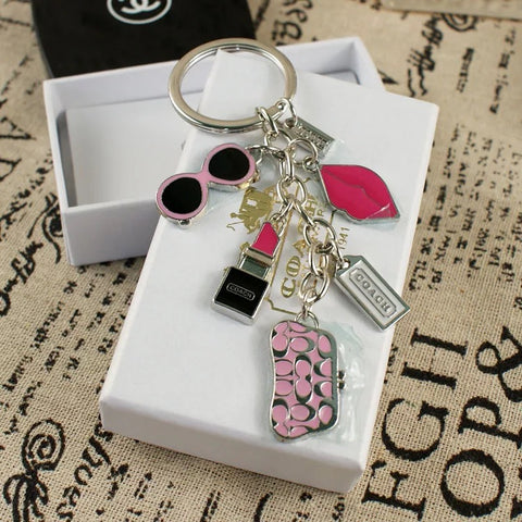 Designer Fashion Make Up Keychain - It's From The Shop